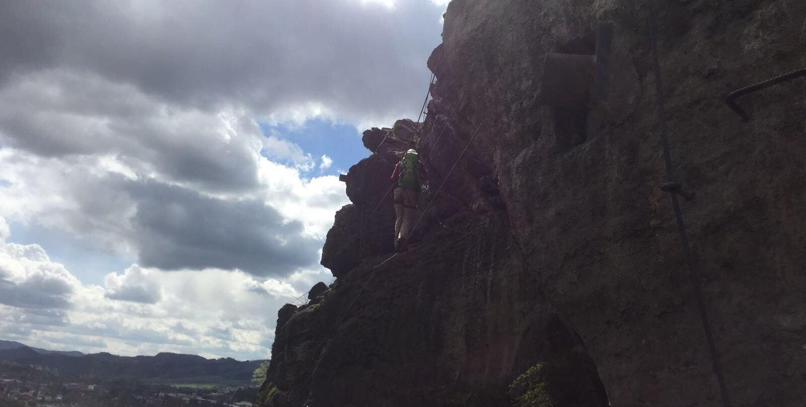 Klettersteig Decin : Dezin u ein geheimtipp als trainings klettersteig