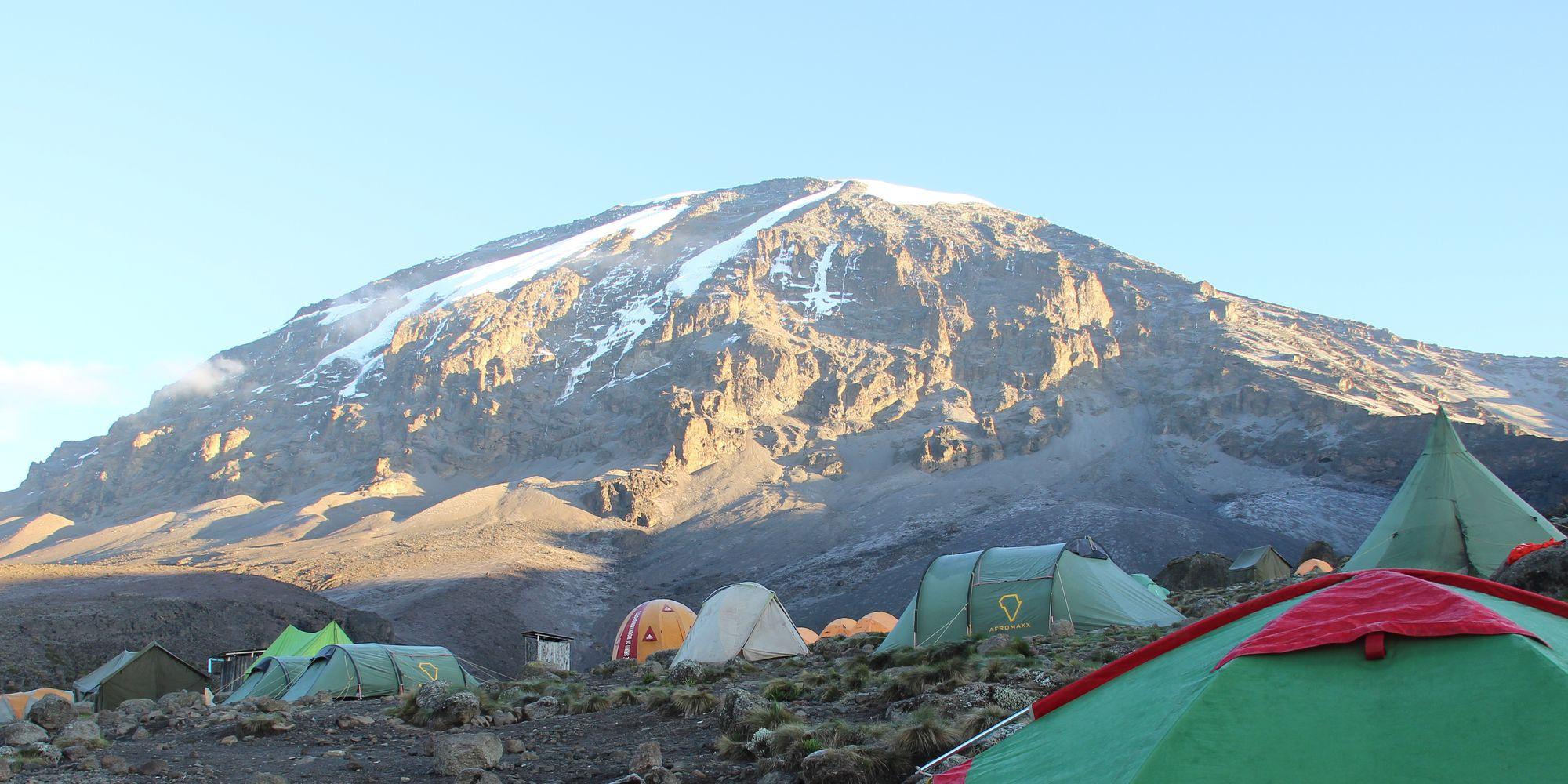 Gipfel des Kilimanjaro 2014 - 7summits4help