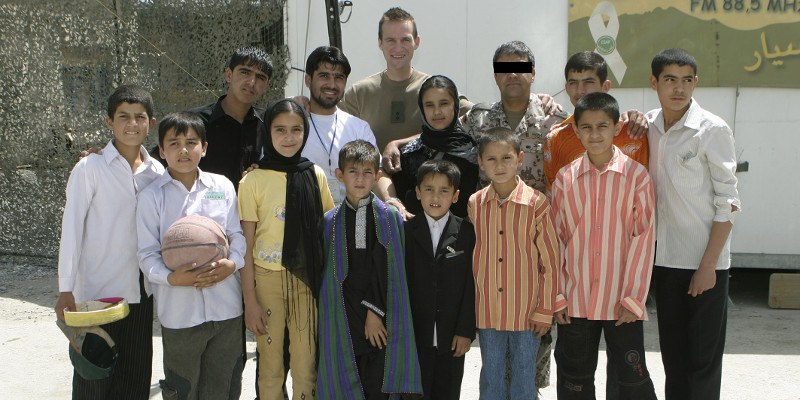 Woher kommt die Idee zum Projekt 7summits4help - 7summits4help-Blog - Nicolas Scheidtweiler in Kabul 2006