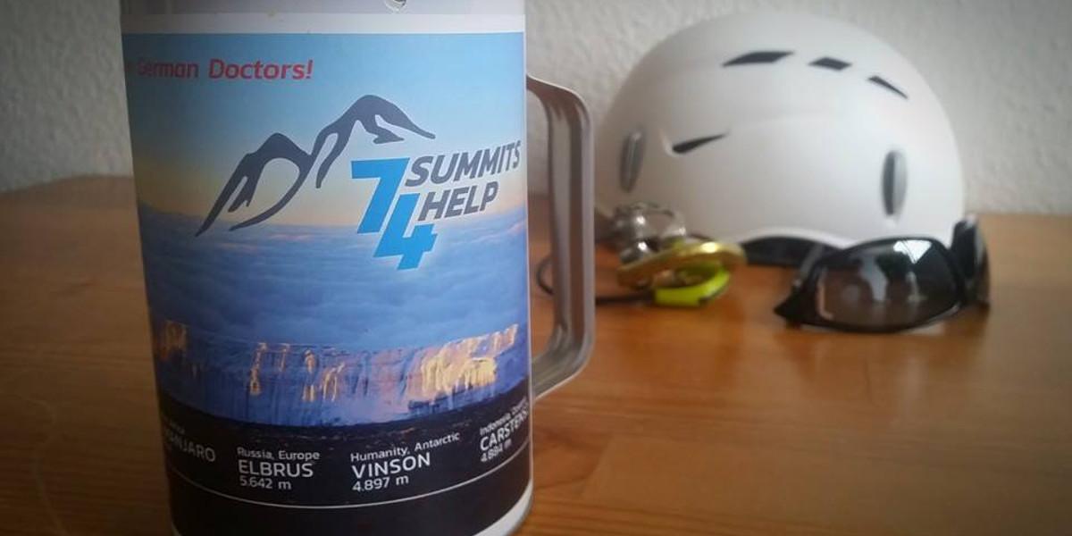 Spendendose - Kennzahlen KPI im Spendenprojekt -7summits4help