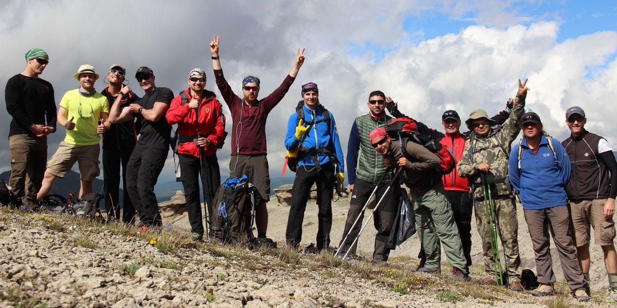 Das Team Elbrus am 24. Juli 2016