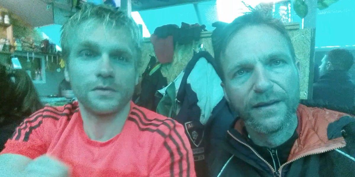 Die Elbrus Gipfelnacht am 28 Juli 2016 - Tobias Dazenko und Nicolas Scheidtweiler auf 7summits4help