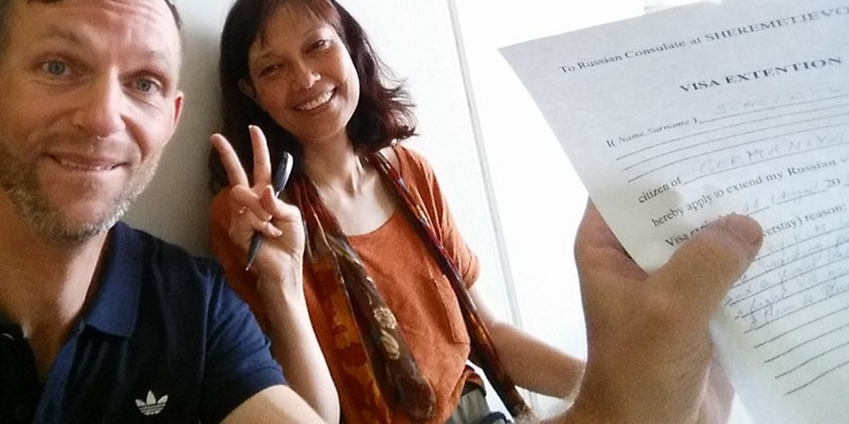 Evelyn aus Hongkong und ich: Irrungen an Scheremetjewo - 7summits4help