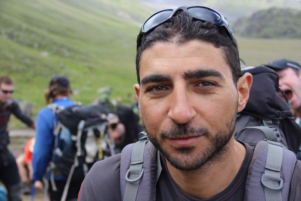 Mahmoud Seiam - Team Elbrus 2016 - 7summits4help