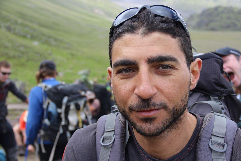 Mahmoud Seiam - Team Elbrus 2016 - 7summits4help