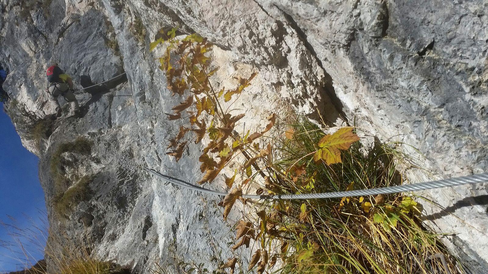Klettersteig Grünstein : Klettersteig grünstein am königssee isidor variante tour