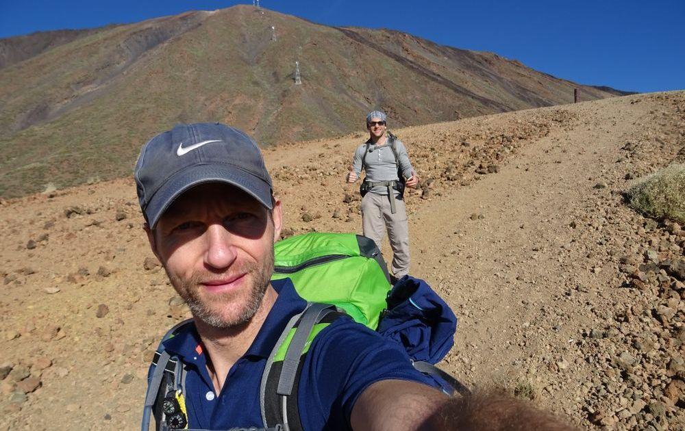 Der Abstieg nach Vilaflores - 7summits4help von Socorro Beach zum Teide Teneriffa