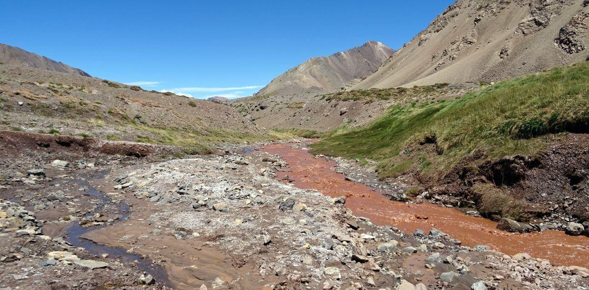 Das erste Grün! Aconcagua 360 Grad 2016   7summits4help