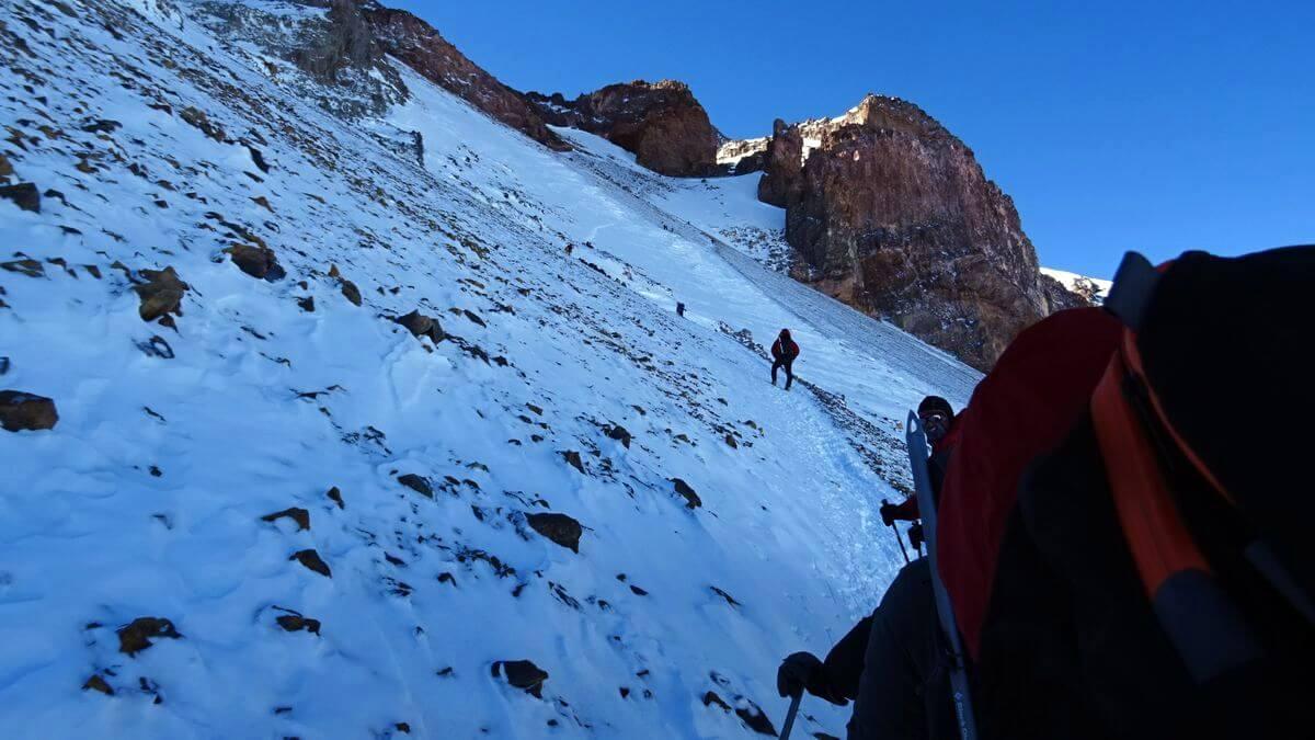 Traverse zum Aconcagua