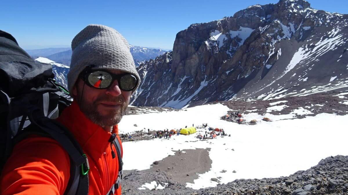 Aufbruch im Camp 2 - Aconcagua 2016 7summits4help