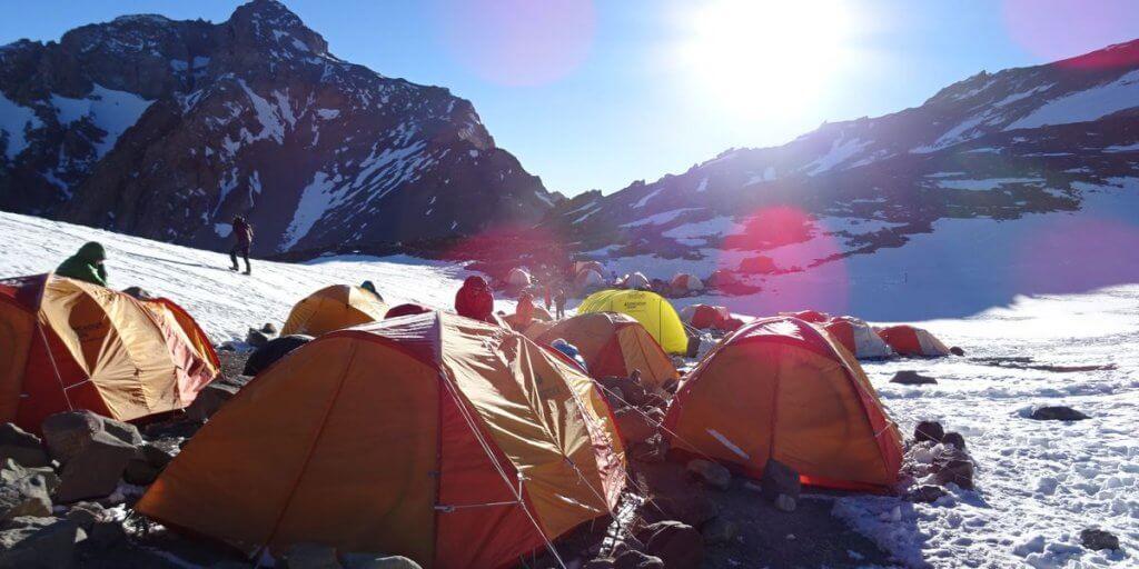Akklimatisierung in Camp 2 auf 5.500m