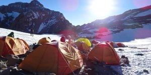 Das Camp 2 auf 5.500m
