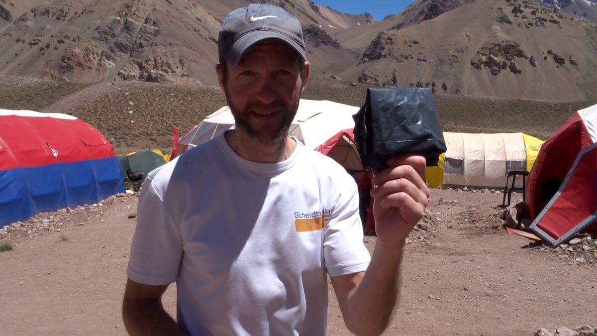 Die Bolsa negra - Hygiene am Aconcagua