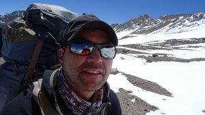 Mountain Guide Julver to Camp 3 Colera - Aconcagua 2016 7summits4help