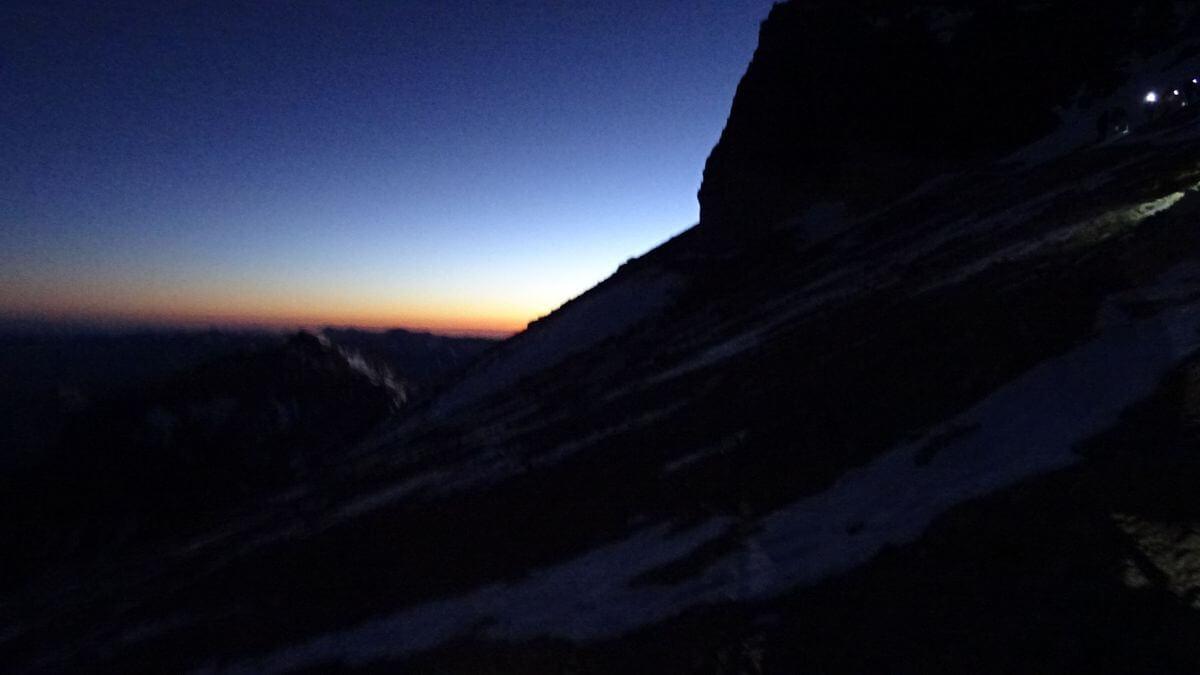 Die Sonne geht auf!