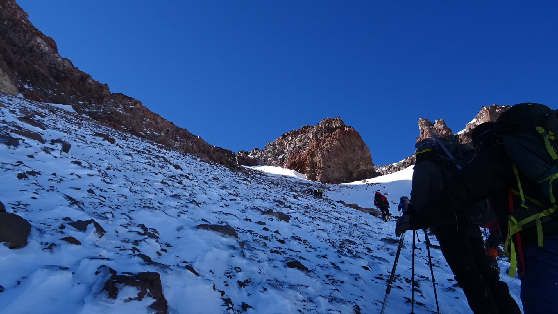 Summit Day on Aconcagua 2016 - 7summits4help