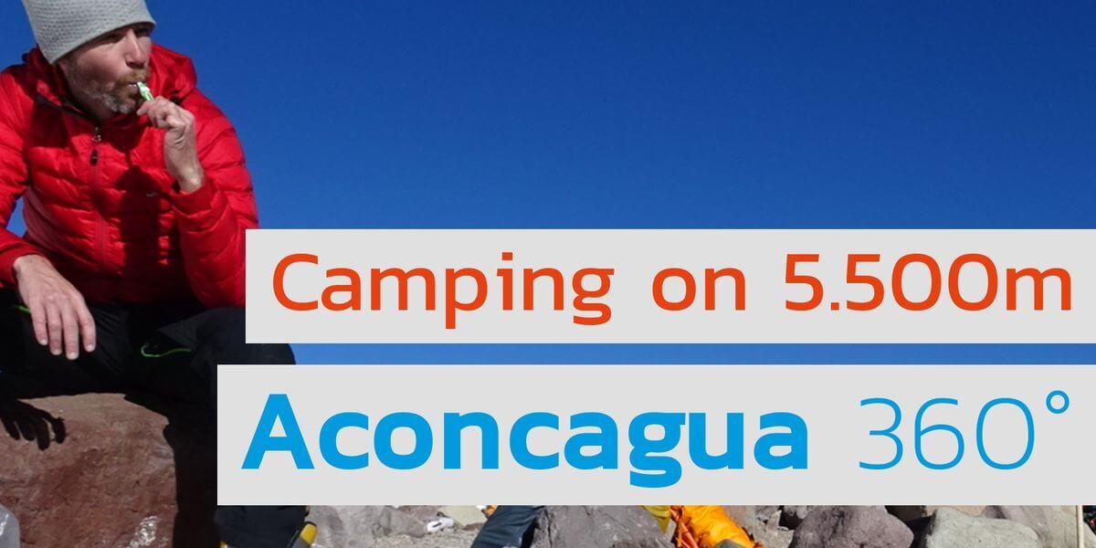Von Camp 1 zu Camp 2 am Aconcagua - 7summits4help bei Youtube