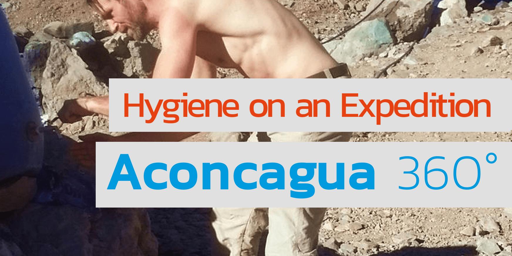 Waschen und Reinigen auf der Aconcagua-Expedition - 7summits4help auf Youtube