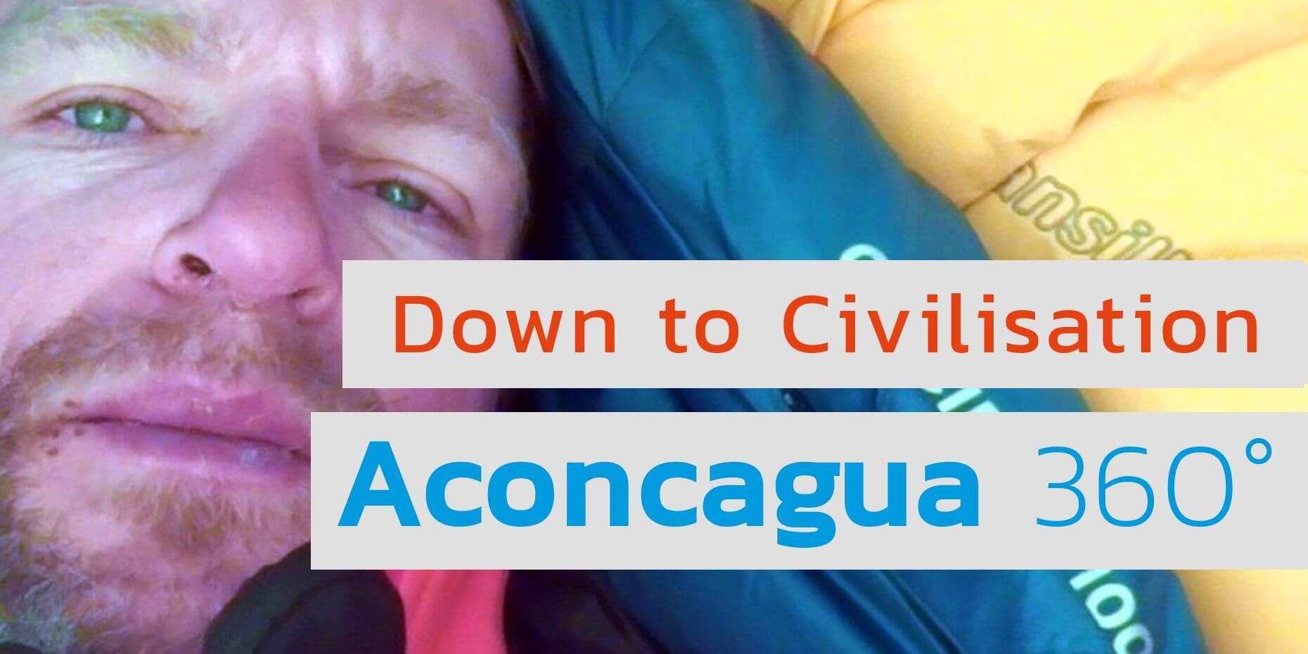 Video: Zurück vom Aconcagua-Gipfel - 7summits4help-Blog