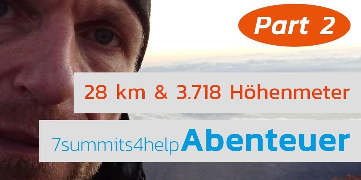 Auf zum Teide - Teil 2 - 7summits4help-Blog