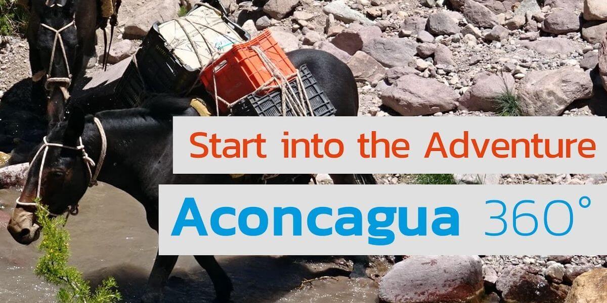 Erste Schritte zum Aconcagua im Nationalpark - 7summits4help
