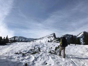Schnee unter der Stuibenspitze