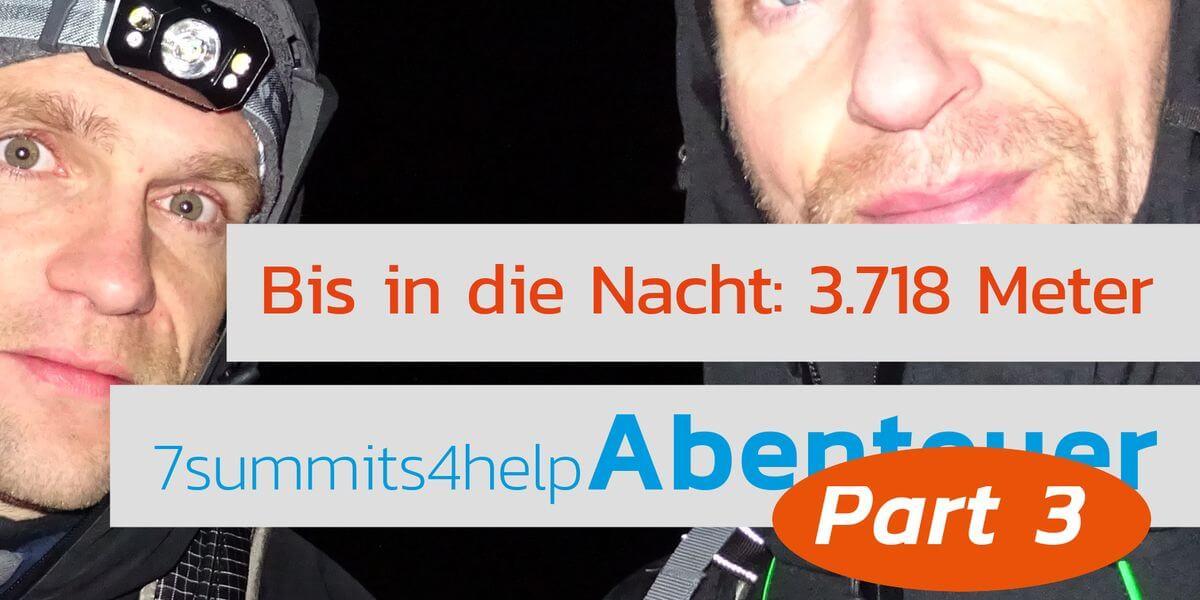Endlich auf 3718 - dem Gipfel des Teide in Teneriffa - 7summits4help-Blog