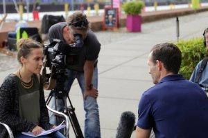 Nicolas im Interview mit dem ZDF