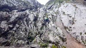 Schrofen-Kletterei