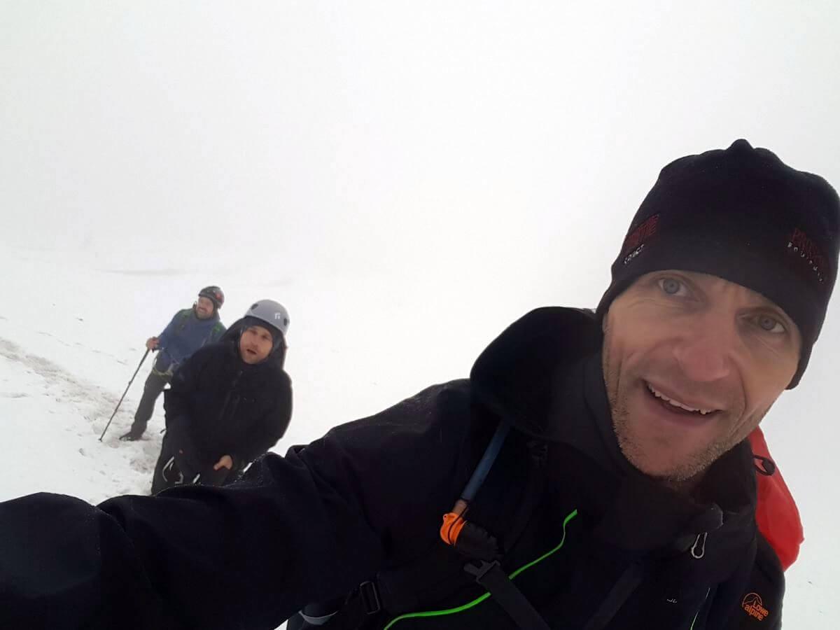 Kindliche Freude im Schnee