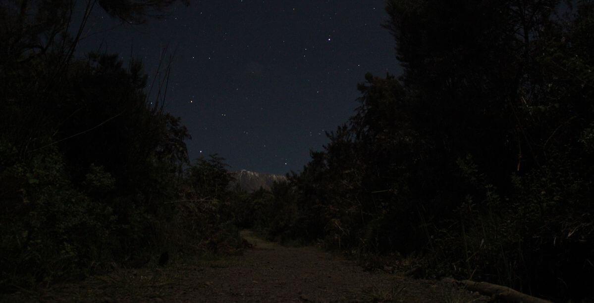 Kibo bei Nacht