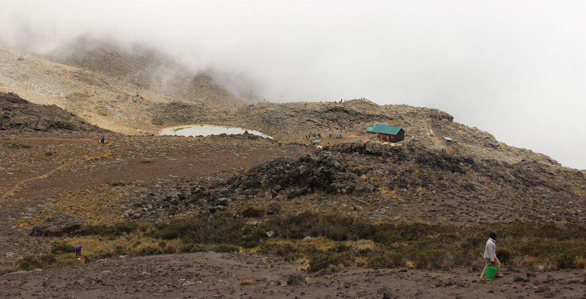 Kikelewa-Camp zur Mawenzi Tarn Hut