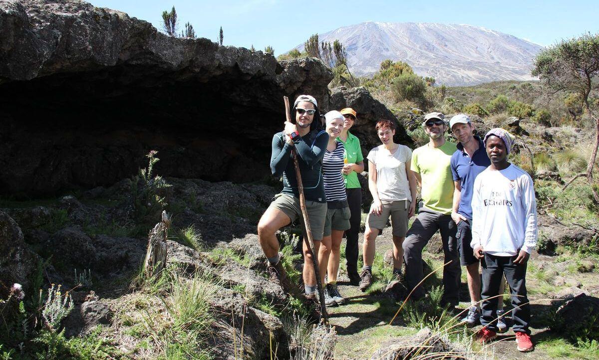 Foto an der First Cave