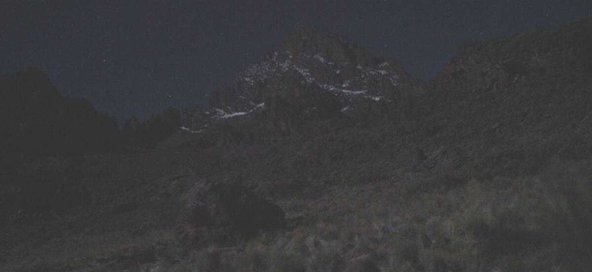 Mawenzi in der Nacht
