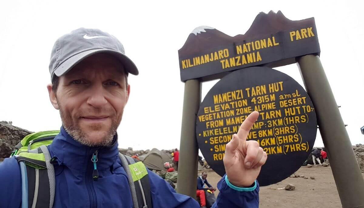 An der Mawenzi Tarn Hut angekommen