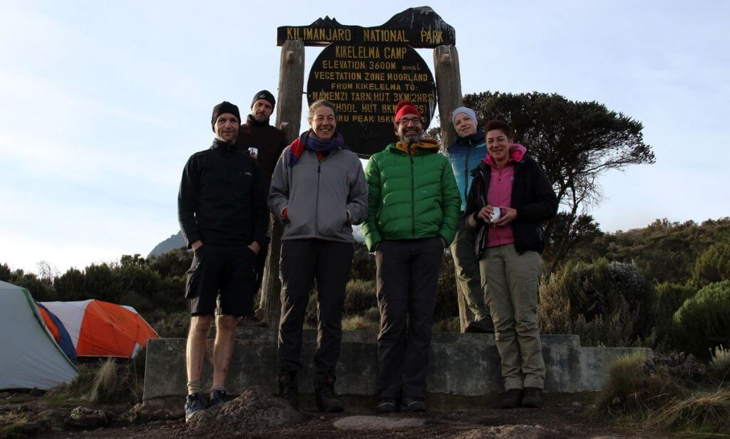 Start am Kikelewa-Camp zur Mawenzi Tarn Hut - 7summits4help auf dem Kilimanjaro via Rongai-Route