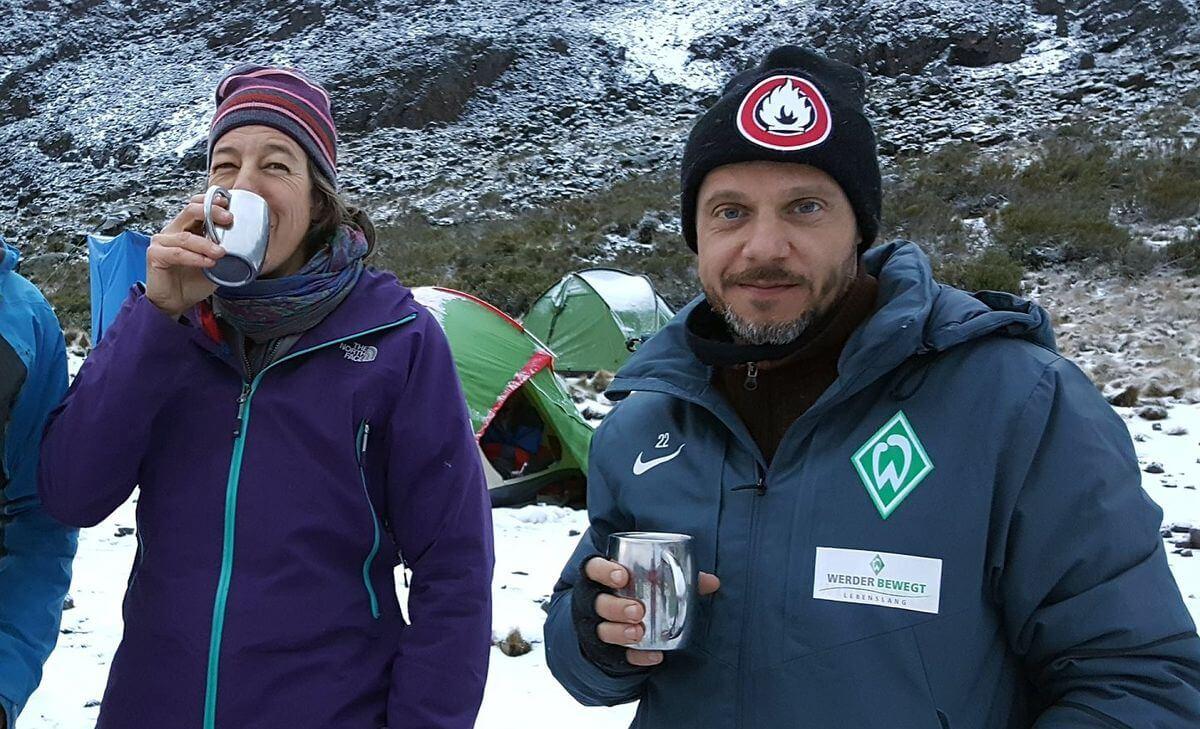 Werder-Morgen-Kaffee mit Tjalf und Nicole
