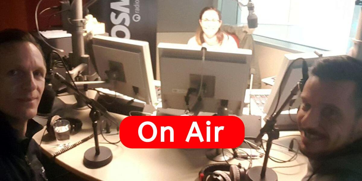 7summits4help on Air - Gast im Studio bei ARD-COSMO, Mitschnitt der Sendung