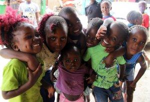Kinder im Mathare Valley