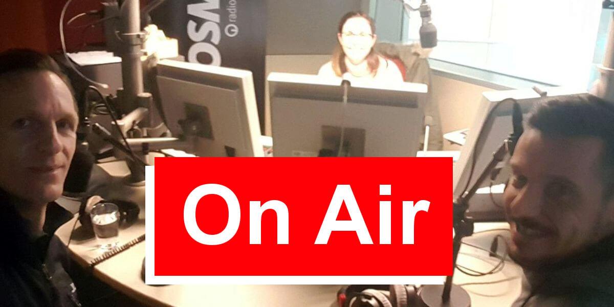Nicolas Scheidtweiler bei ARD Cosmo - 7summits4help-Blog