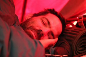 Diego im Basecamp Plaza Argentina - Aconcagua 2016 7summits4help