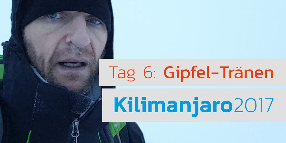 Video - Nummer 3 der 7 Summits - 7summits4help auf dem Kili