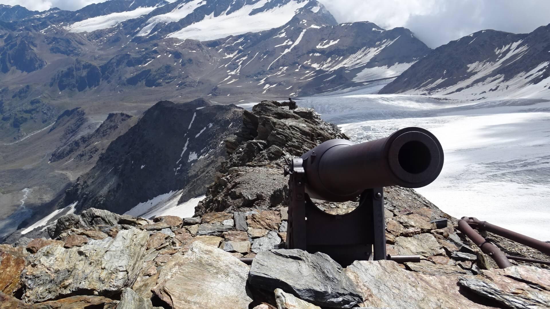 Cevedale - Drei Kanonen - DAV Summit Club Hochtourenwoche Ortler