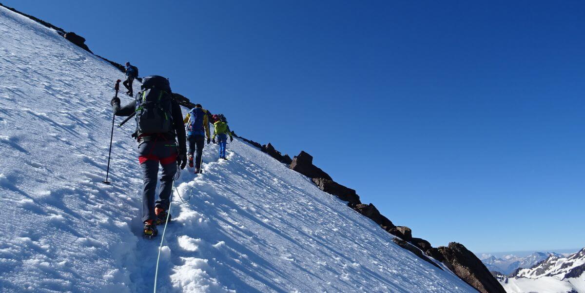 DAV Summit Club Hochtourenwoche: Anstieg zum Palon de la Mare