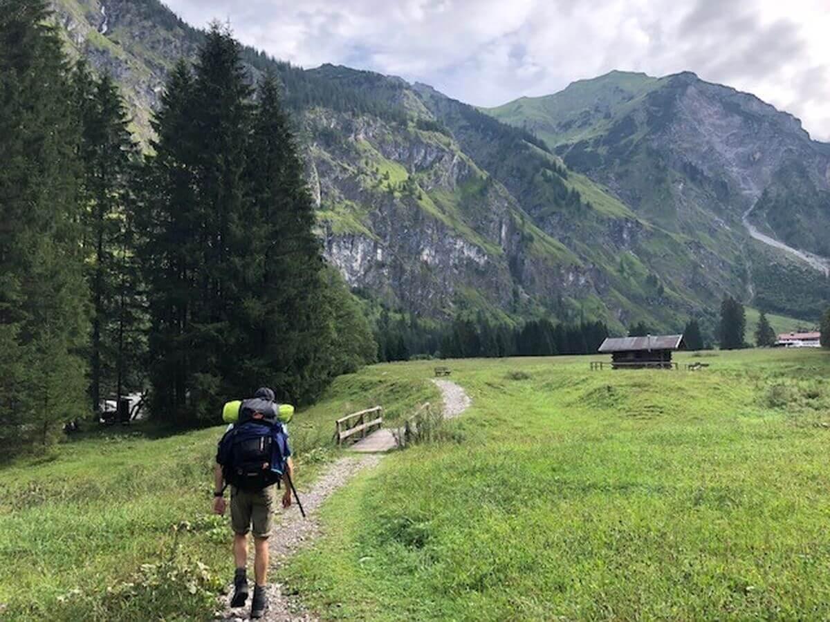 Oberstdorf zum Prinz-Luitpold-Haus - Käseralpe - 7summits4help-Training
