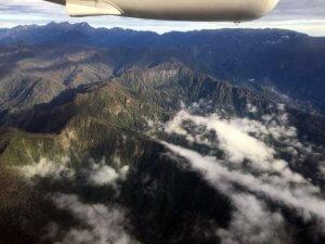 Anflug auf Illaga