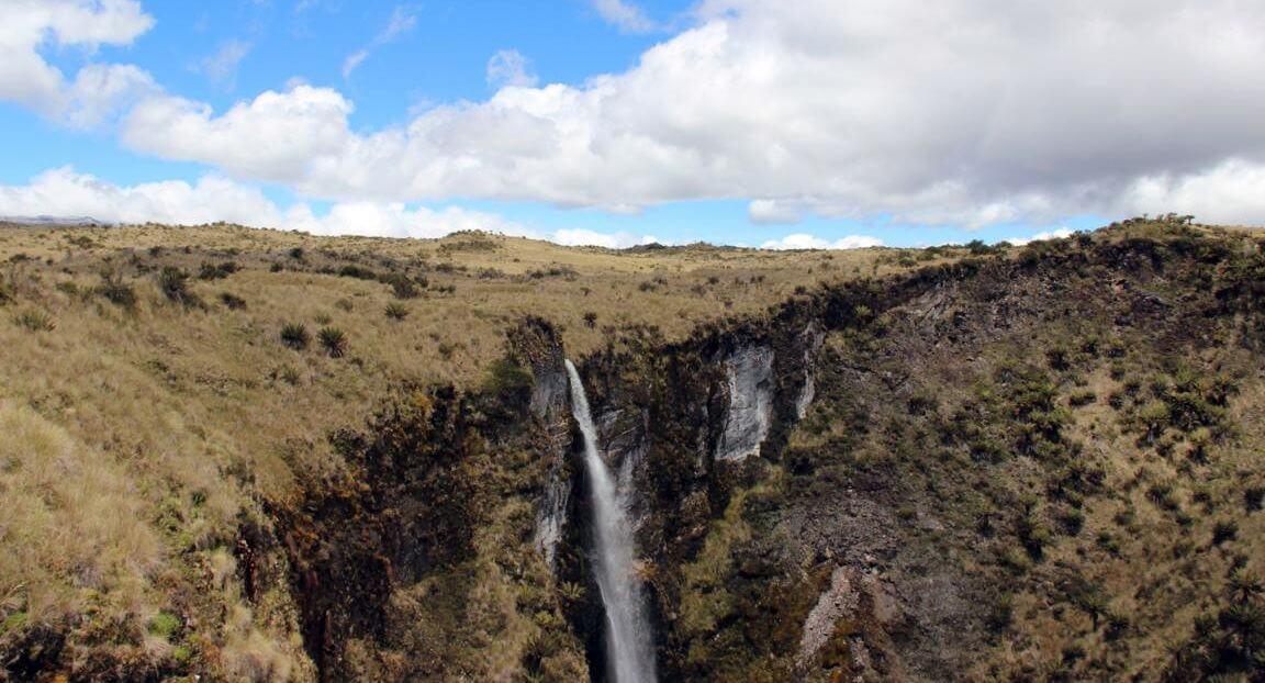 Der Wasserfall - Expedition Carstensz-Pyramide
