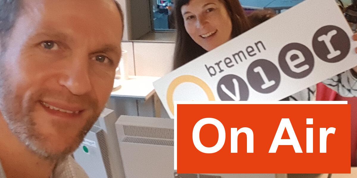 Carstensz-Pyramide On Air bei Zebra Vier von Radio Bremen - 7summits4help-Blog