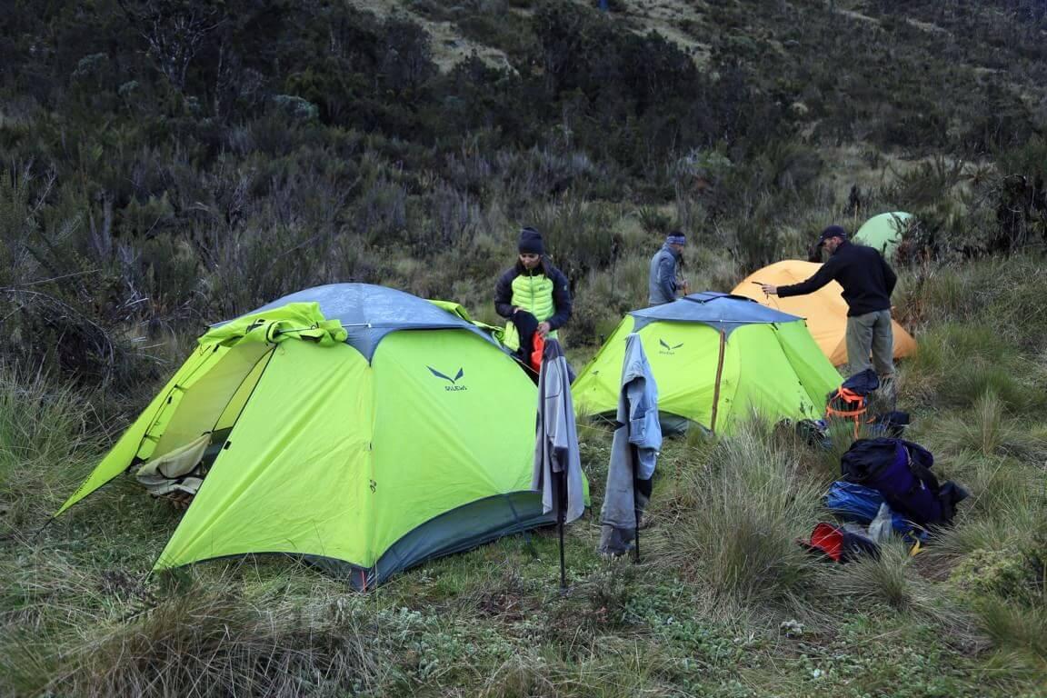 Einrichten des Lagers 4
