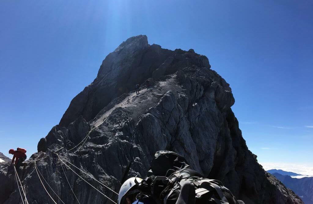 Die letzten Schritte zum Gipfel